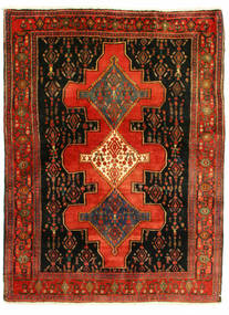 Senneh Alfombra 126X175 Oriental Hecha A Mano (Lana, Persia/Irán)