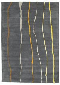 Flaws Handtufted - Gris Alfombra 160X230 Moderna Gris Oscuro/Gris Claro (Lana, India)