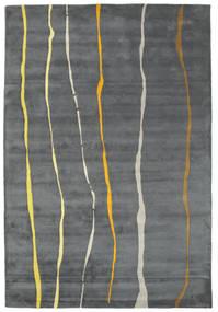 Flaws Handtufted - Gris Alfombra 200X300 Moderna Gris Claro/Gris Oscuro/Azul (Lana, India)