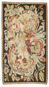 Kilim Rose Alfombra 180X315 Oriental Tejida A Mano Marrón/Beige Oscuro (Lana, Moldavia)