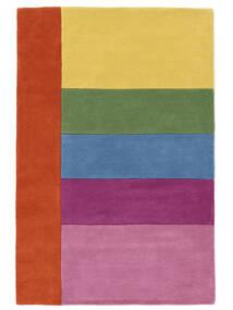 Colors By Meja Handtufted Alfombra 120X180 Moderna Rosa Claro/Amarillo (Lana, India)
