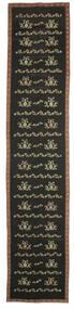 Kilim Bulgarian Alfombra 174X850 Oriental Tejida A Mano Gris Oscuro (Lana, Bulgaria)