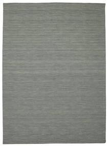 Kilim Loom - Gris Oscuro Alfombra 250X350 Moderna Tejida A Mano Gris Claro/Verde Oscuro Grande (Lana, India)
