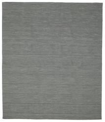 Kilim Loom - Gris Oscuro Alfombra 250X300 Moderna Tejida A Mano Verde Oscuro/Gris Claro Grande (Lana, India)