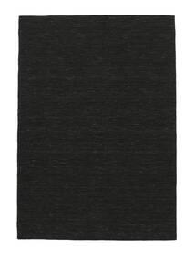 Kilim Loom - Negro Alfombra 160X230 Moderna Tejida A Mano Negro (Lana, India)