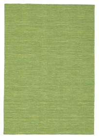 Kilim Loom - Verde Alfombra 140X200 Moderna Tejida A Mano Verde Oliva/Verde Claro (Lana, India)