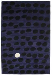 Camouflage Handtufted - Oscuro Alfombra 200X300 Moderna Negro/Azul Oscuro (Lana, India)