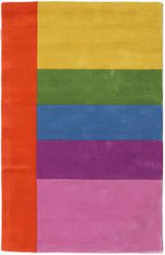 Colors By Meja Handtufted Alfombra 100X160 Moderna Rosa/Óxido/Roja (Lana, India)