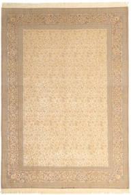 Isfahan Urdimbre De Seda Firmada: Dardashti Alfombra 250X350 Oriental Hecha A Mano Beige/Marrón Claro Grande (Lana/Seda, Persia/Irán)