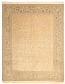 Isfahan Urdimbre De Seda Firmada: Dardashti Alfombra 247X312 Oriental Hecha A Mano Beige Oscuro/Beige (Lana/Seda, Persia/Irán)