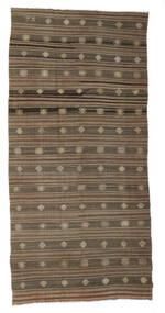 Kilim Semiantigua Turquía Alfombra 172X357 Oriental Tejida A Mano Marrón/Gris Claro (Lana, Turquía)