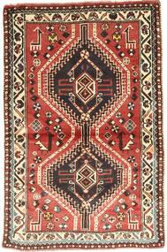 Gashgai Alfombra 97X150 Oriental Hecha A Mano Marrón Oscuro/Rojo Oscuro (Lana, Persia/Irán)