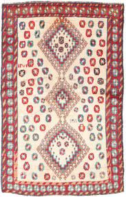Gashgai Alfombra 120X188 Oriental Hecha A Mano Beige/Gris Claro (Lana, Persia/Irán)
