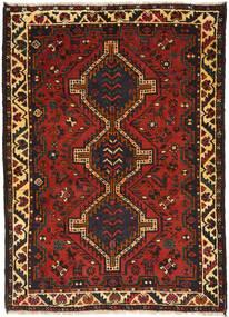 Gashgai Alfombra 114X159 Oriental Hecha A Mano Marrón Oscuro/Óxido/Roja (Lana, Persia/Irán)