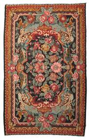 Kilim Rose Moldavia Alfombra 215X345 Oriental Tejida A Mano Roja/Verde Oliva (Lana, Moldavia)