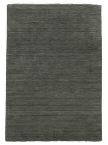 Handloom Fringes - Gris Oscuro Alfombra 200X300 Moderna Gris Oscuro (Lana, India)