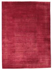 Gabbeh Loribaft Alfombra 203X278 Moderna Hecha A Mano Roja/Rojo Oscuro (Lana, India)