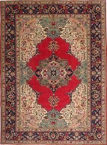 Tabriz Patina Alfombra 264X355 Oriental Hecha A Mano Marrón Oscuro/Rojo Oscuro Grande (Lana, Persia/Irán)
