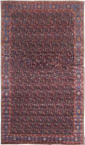 Senneh Alfombra 368X639 Oriental Hecha A Mano Marrón Oscuro/Violeta Grande (Lana, Persia/Irán)