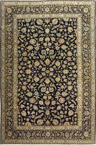 Keshan Patina Alfombra 255X385 Oriental Hecha A Mano Negro/Marrón Claro Grande (Lana, Persia/Irán)