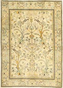 Tabriz Patina Alfombra 100X140 Oriental Hecha A Mano Beige/Beige Oscuro/Verde Claro (Lana, Persia/Irán)