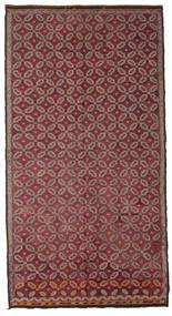 Kilim Semiantigua Turquía Alfombra 178X335 Oriental Tejida A Mano Rojo Oscuro/Rosa (Lana, Turquía)