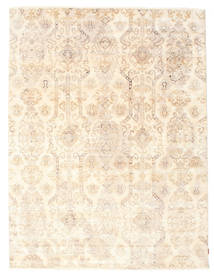 Himalaya Alfombra 230X304 Moderna Hecha A Mano Beige/Rosa Claro (Lana/Seda De Bambú, India)