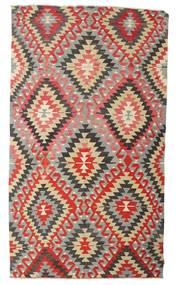 Kilim Semiantigua Turquía Alfombra 170X298 Oriental Tejida A Mano Gris Claro/Óxido/Roja (Lana, Turquía)