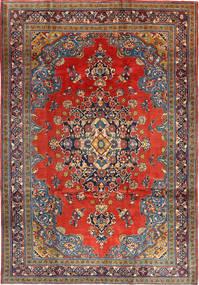 Wiss Alfombra 205X312 Oriental Hecha A Mano Rojo Oscuro/Óxido/Roja (Lana, Persia/Irán)