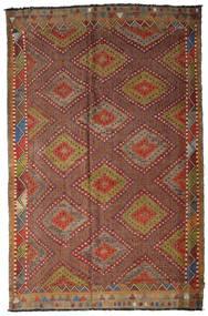 Kilim Semiantigua Turquía Alfombra 205X317 Oriental Tejida A Mano Marrón Oscuro/Marrón (Lana, Turquía)