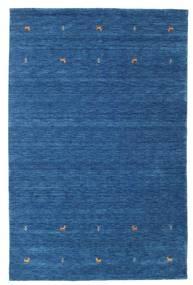 Gabbeh Loom Two Lines - Azul Alfombra 190X290 Moderna Azul Oscuro/Azul (Lana, India)