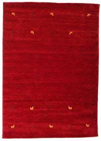 Gabbeh Loom Two Lines - Rojo Alfombra 160X230 Moderna Roja/Rojo Oscuro (Lana, India)