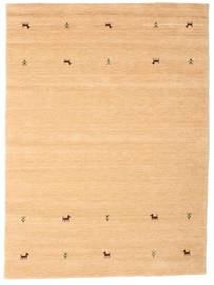 Gabbeh Loom Two Lines - Beige Alfombra 160X230 Moderna Beige Oscuro/Marrón Claro (Lana, India)