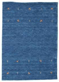 Gabbeh Loom Two Lines - Azul Alfombra 140X200 Moderna Azul Oscuro/Azul (Lana, India)