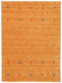 Gabbeh Loom Two Lines - Naranja Alfombra 140X200 Moderna Naranja (Lana, India)
