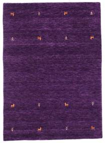 Gabbeh Loom Two Lines - Violeta Alfombra 140X200 Moderna Púrpura Oscuro (Lana, India)