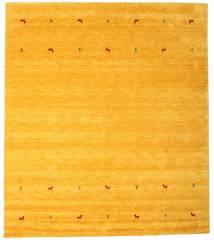 Gabbeh Loom Two Lines - Amarillo Alfombra 240X290 Moderna Naranja (Lana, India)