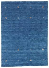 Gabbeh Loom Two Lines - Azul Alfombra 160X230 Moderna Azul Oscuro/Azul (Lana, India)