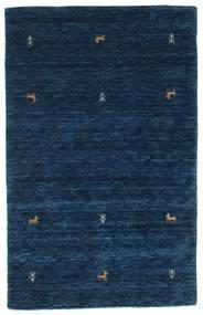 Gabbeh Loom Two Lines - Azul Oscuro Alfombra 100X160 Moderna Azul Oscuro (Lana, India)