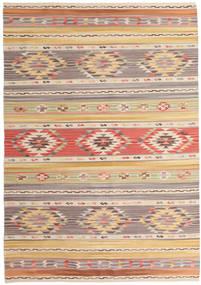 Kilim Nimrud Alfombra 160X230 Moderna Tejida A Mano Gris Claro/Beige Oscuro (Lana, India)