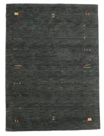 Gabbeh Loom Frame - Gris Oscuro/Verde Alfombra 140X200 Moderna Verde Oscuro/Verde Oscuro (Lana, India)