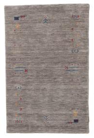 Gabbeh Loom Frame - Gris Alfombra 100X160 Moderna Gris Oscuro/Gris Claro (Lana, India)