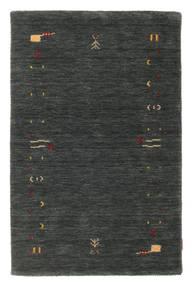 Gabbeh Loom Frame - Gris Oscuro/Verde Alfombra 100X160 Moderna Verde Oscuro (Lana, India)