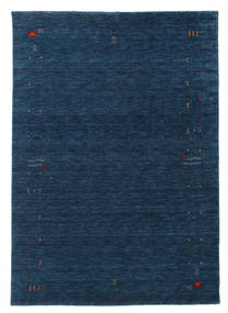 Gabbeh Loom Frame - Azul Oscuro Alfombra 160X230 Moderna Azul Oscuro (Lana, India)