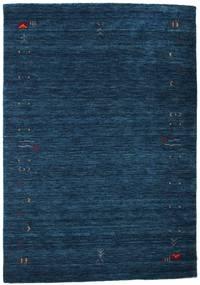 Gabbeh Loom Frame - Azul Oscuro Alfombra 140X200 Moderna Azul Oscuro (Lana, India)