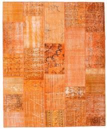 Patchwork Alfombra 201X246 Moderna Hecha A Mano Naranja/Beige Oscuro (Lana, Turquía)