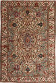 Tabriz Patina Alfombra 217X323 Oriental Hecha A Mano Marrón Oscuro/Marrón Claro (Lana, Persia/Irán)
