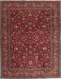 Mashad Patina Alfombra 240X325 Oriental Hecha A Mano Rojo Oscuro/Gris Oscuro (Lana, Persia/Irán)