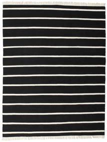 Dorri Stripe - Negro/Blanco Alfombra 200X250 Moderna Tejida A Mano Negro (Lana, India)