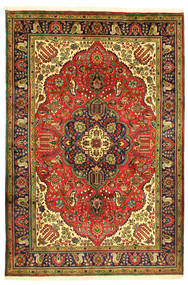 Tabriz Alfombra 208X304 Oriental Hecha A Mano (Lana, Persia/Irán)
